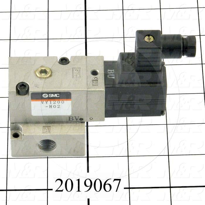 "Electro Pneumatic Regulator, Base Mounting, 1/4"" NPT Port In, 24V Power Source, Max. 127 Psi Pressure Range"