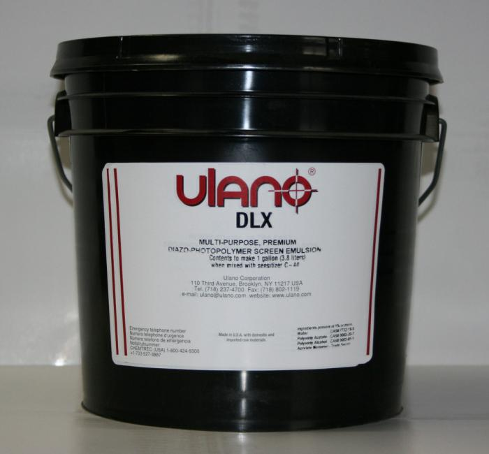 Emulsions, Blue Color, Gallon Size, Without Pre-Sensitized, Without Waterproof, Ulano Manufacturer