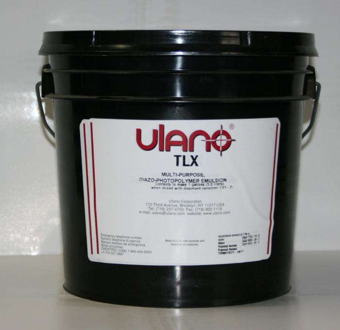 Emulsions, Green Color, Gallon Size, Without Pre-Sensitized, Without Waterproof, Ulano Manufacturer