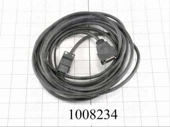 Encoder Cable, 5m, For HC-MF Motor