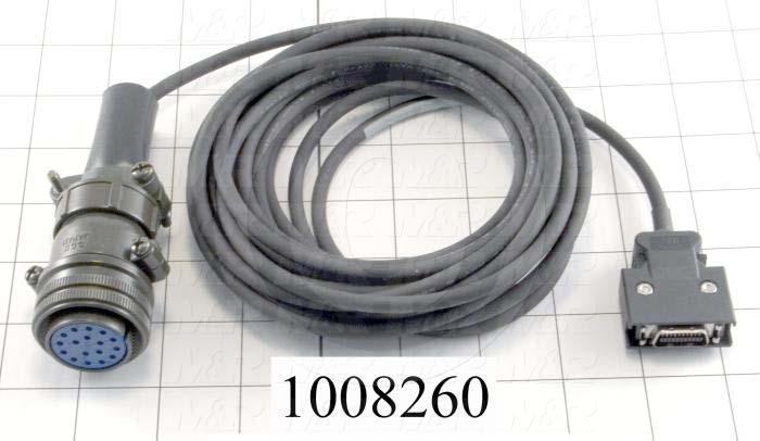 Encoder Cable, 5m, For MR-J2 Servo Amplifier