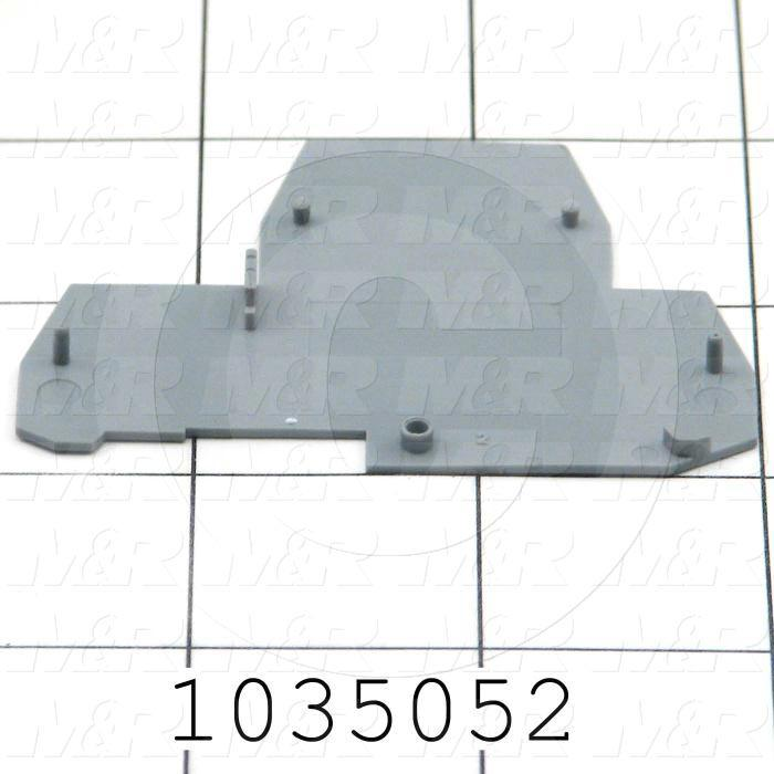 End Section, Use For Terminal Block Double Deck