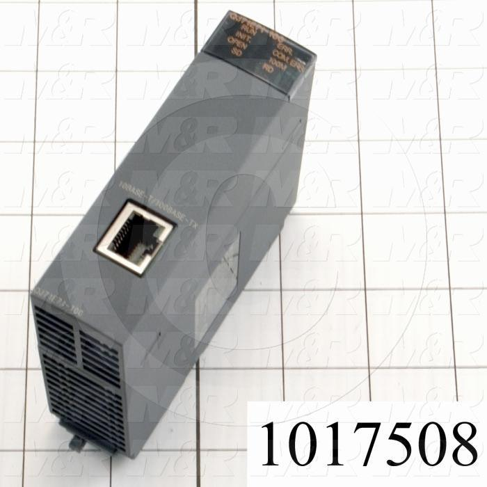 Ethernet Module, Q Series, 10/100Mbps