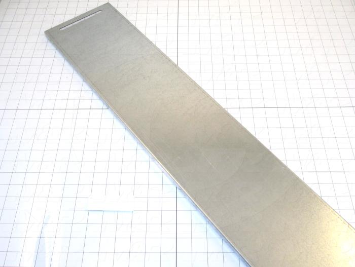 Fabricated Parts, Adjustable Door, 49.31 in. Length, 8.58 in. Width, 0.63 in. Height