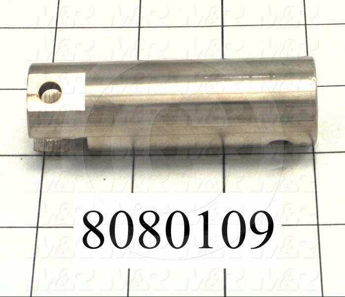 Fabricated Parts, Adjustment Bar, 1.13 in. Length, 1.00 in. Diameter