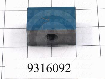 Fabricated Parts, Adjustment Block, 2.00 in. Length, 1.00 in. Width, 1.25 in. Height