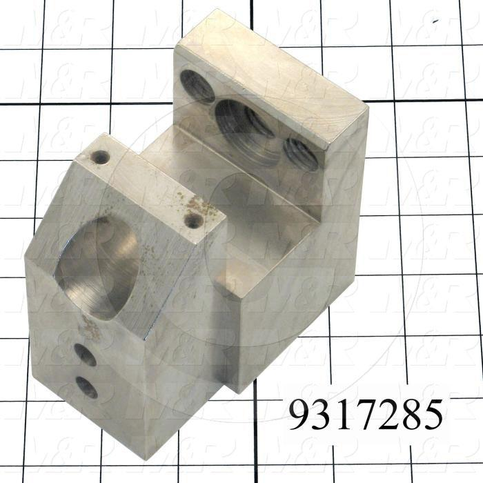 "Fabricated Parts, Adjustment Bracket 3.75""Lg Ls, 3.75 in. Length, 3.75 in. Width, 2.50 in. Thickness"