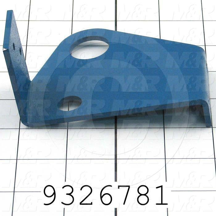 Fabricated Parts, Air Hose Bracket, 3.25 in. Length, 2.75 in. Width, 3.25 in. Height, Right Side