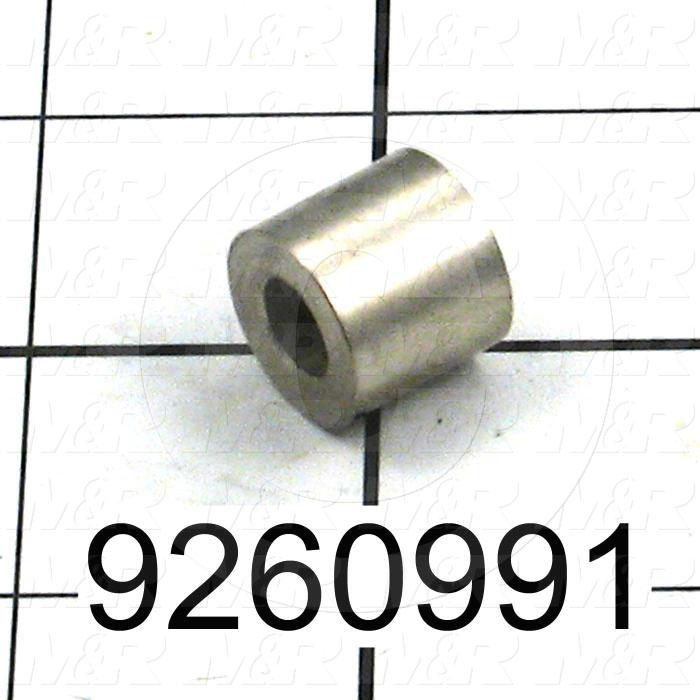 Fabricated Parts, Air Lock Spacer, 0.56 in. Length, 0.63 in. Diameter