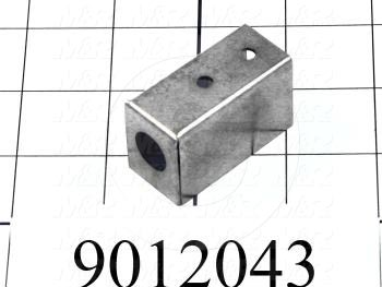 Fabricated Parts, Air Lock Switch Mounting Channel, 1.75 in. Length, 0.81 in. Width, 1.06 in. Height