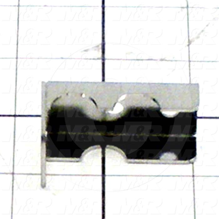 Fabricated Parts, Air Lock Switch Mounting Channel, 1.75 in. Length, 1.00 in. Width, 1.00 in. Height