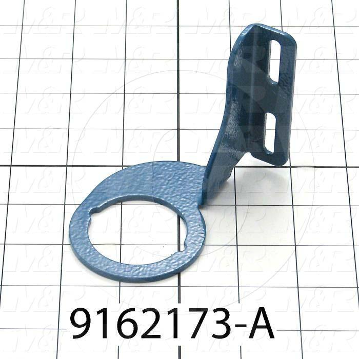 Fabricated Parts, Air Preparation Unit Mounting Bracket, 3.89 in. Length, 3.13 in. Width, 4.58 in. Height