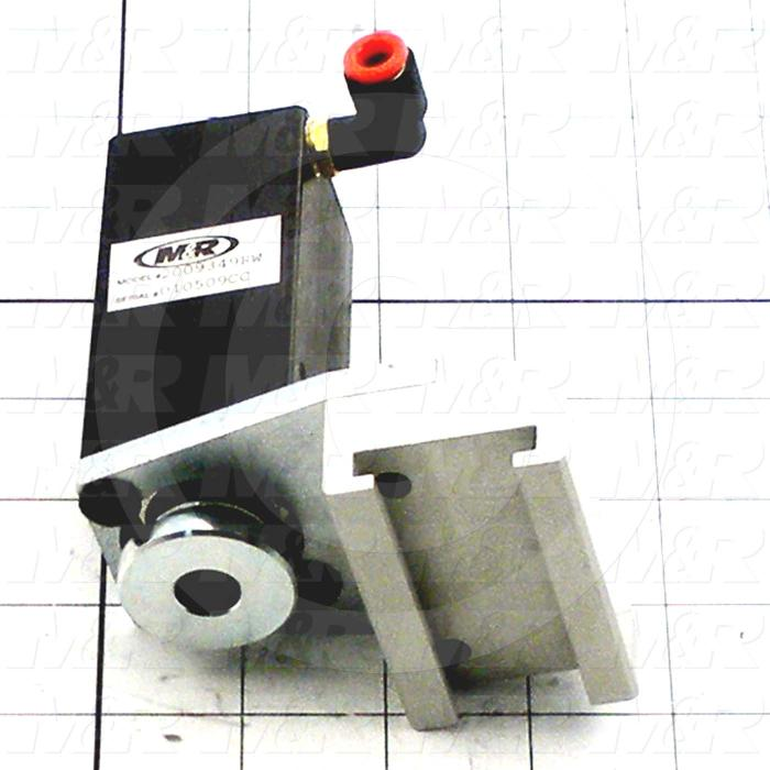 Fabricated Parts, Air Screen Clamp Assembly, 3.54 in. Length, 2.50 in. Width, 4.13 in. Height