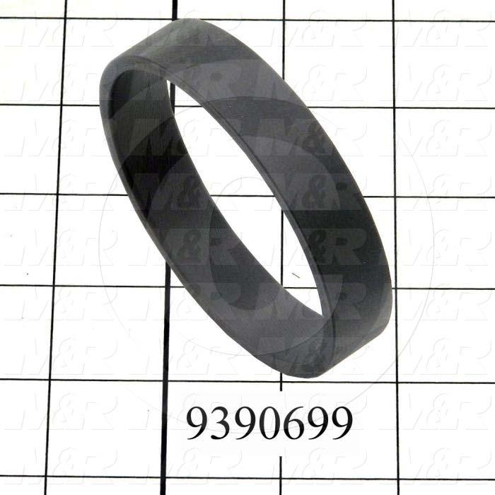 Fabricated Parts, Anti-Slip Exhaust Tube Ring, 0.63 in. Length, 3.12 in. Diameter