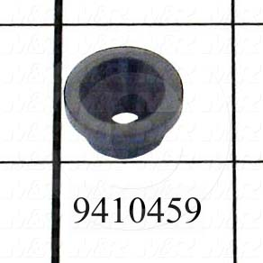 Fabricated Parts, Bar Guide, 0.69 in. Diameter, 0.34 in. Thickness