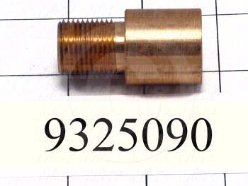 Fabricated Parts, Bearing, 1.88 in. Length, 1.00 in. Diameter