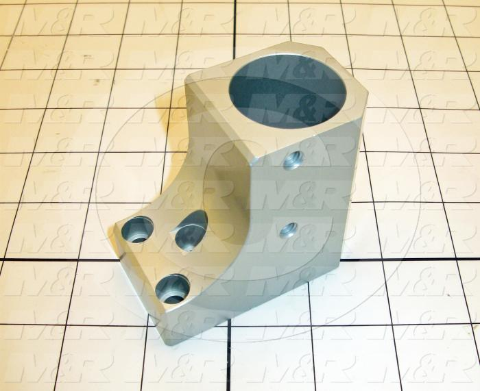 Fabricated Parts, Bearing Block, 2.75 in. Length, 2.63 in. Width, 1.50 in. Height