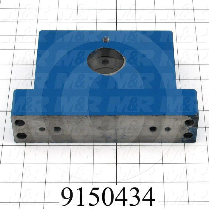 Fabricated Parts, Bearing Block, 8.00 in. Length, 1.88 in. Width, 5.25 in. Height