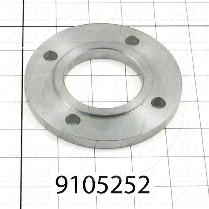 Fabricated Parts, Bearing Flange, 4.50 in. Diameter, 0.45 in. Thickness