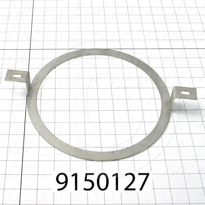 Fabricated Parts, Bearing Holder Ring, 8.69 in. Diameter