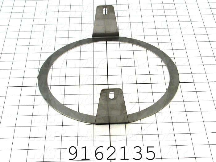 Fabricated Parts, Bearing Holder Ring, 9.95 in. Length, 2.88 in. Height, 10.00 in. Diameter