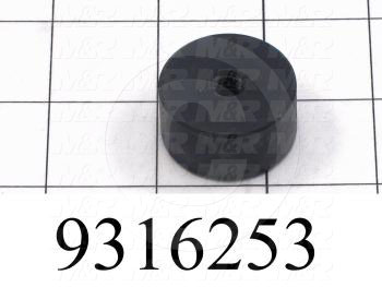 Fabricated Parts, Bearing Side Guide, 1.25 in. Diameter, 0.65 in. Thickness