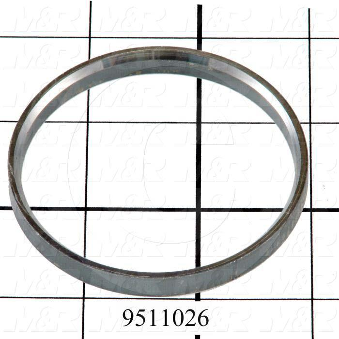Fabricated Parts, Bearing Spacer, 0.25 in. Length, 2.69 in. Diameter