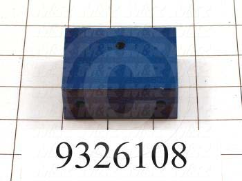 Fabricated Parts, Bed Adjustment Block, 2.50 in. Length, 1.88 in. Width, 1.00 in. Height