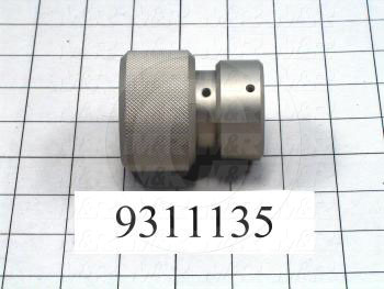Fabricated Parts, Bed Adjustment Knob, 2.63 in. Length, 2.25 in. Diameter