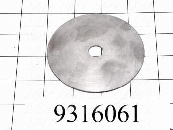 Fabricated Parts, Bed Lockplate Spacer, 3.50 in. Diameter, 18 GA Thickness