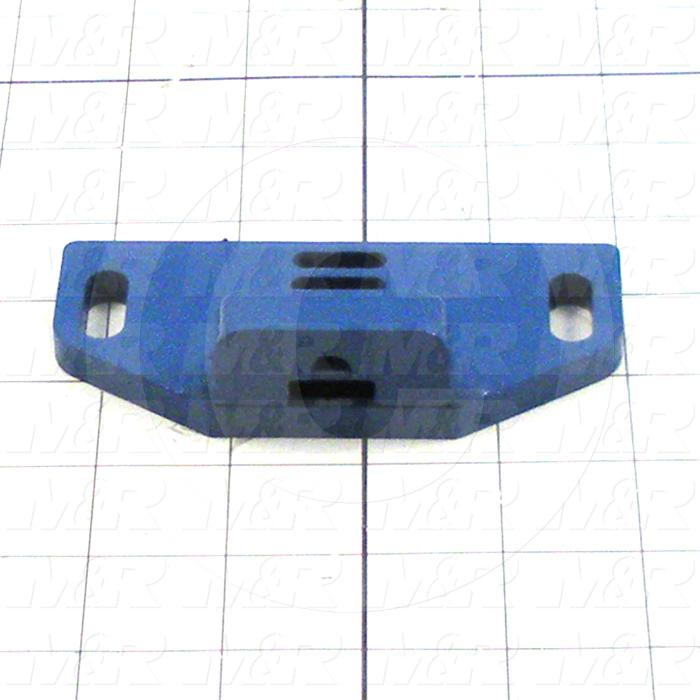 Fabricated Parts, Belt Tension Lock, 4.38 in. Length, 2.03 in. Width, 1.06 in. Height