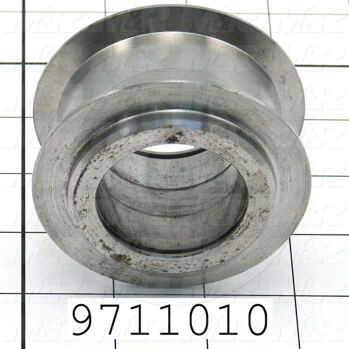 Fabricated Parts, Belt Tension Sprocket, 1.75 in. Length, 3.00 in. Diameter, 1.00 in. Thickness