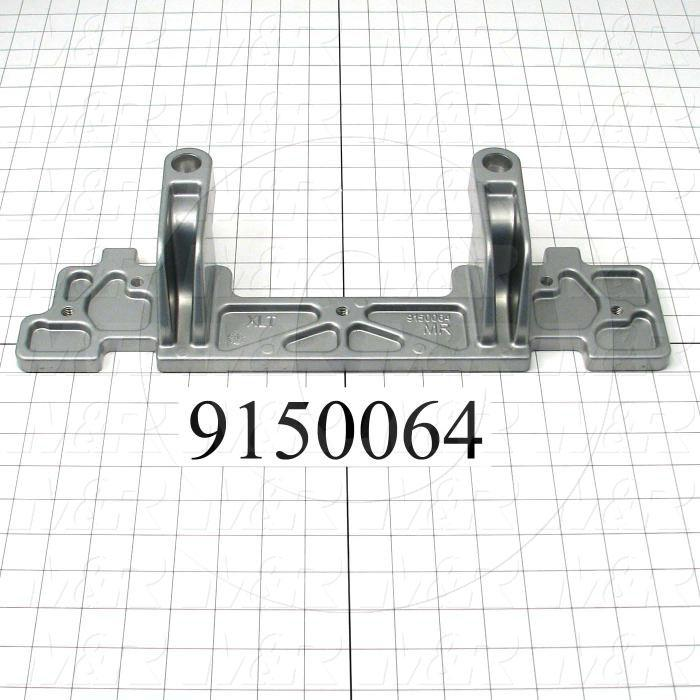 Fabricated Parts, Bottom Micro Cast Machining, 17.00 in. Length, 5.50 in. Width, 3.00 in. Height