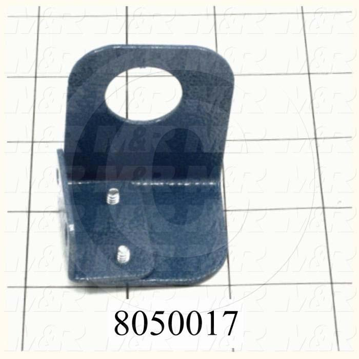 Fabricated Parts, Bracket, 1.88 in. Length, 1.63 in. Width, 1.41 in. Height