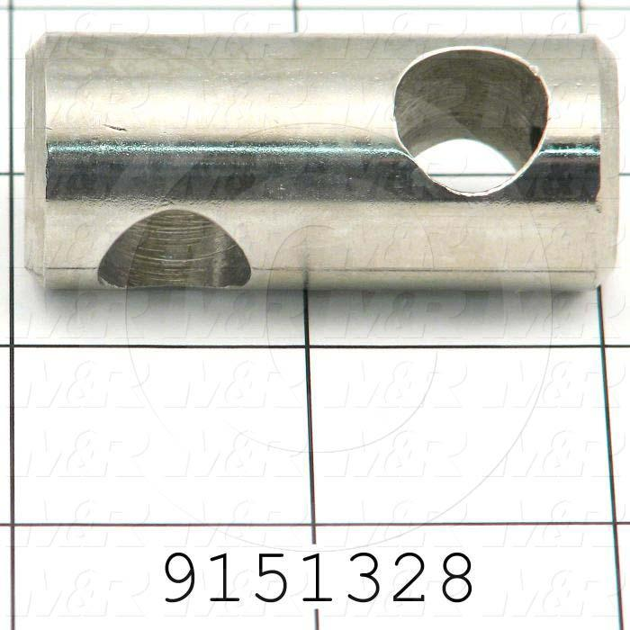 Fabricated Parts, Bracket For Gun, 2.00 in. Length, 0.88 in. Diameter