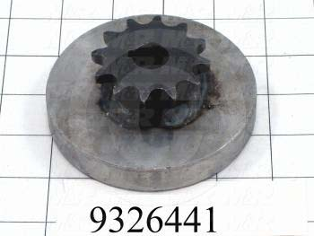 Fabricated Parts, Brake Disk Weldment