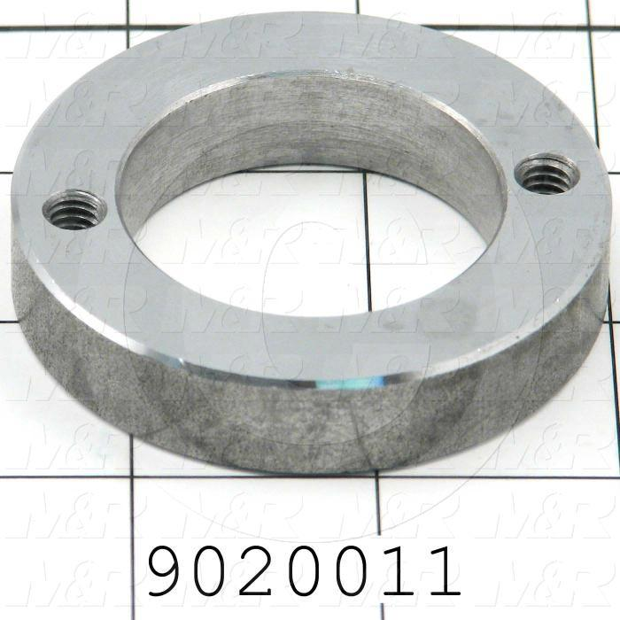 Fabricated Parts, Bushing Ring, 2.50 in. Diameter, 0.50 in. Thickness