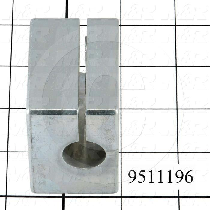 Fabricated Parts, Cam Block, 2.25 in. Length, 2.25 in. Width, 1.56 in. Height