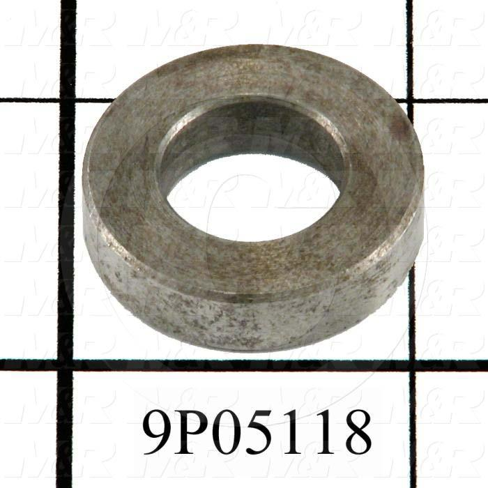 Fabricated Parts, Cam Follower Spacer, 1.00 in. Diameter, 0.25 in. Thickness