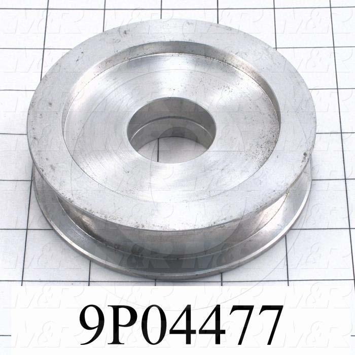 Fabricated Parts, Carriage Idler Sprocket, 3.88 in. Diameter, 1.88 in. Thickness
