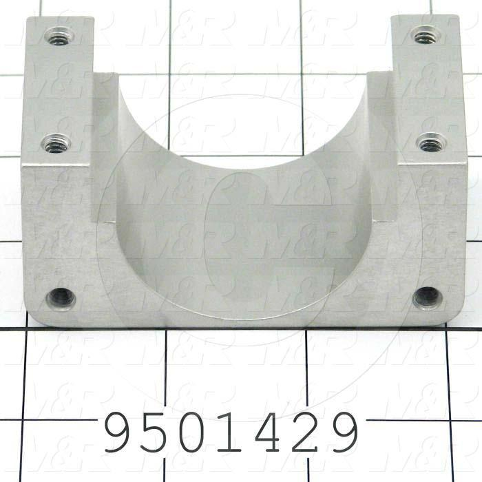 Fabricated Parts, Carriage Wire Cap, 3.15 in. Length, 1.50 in. Width, 1.75 in. Height