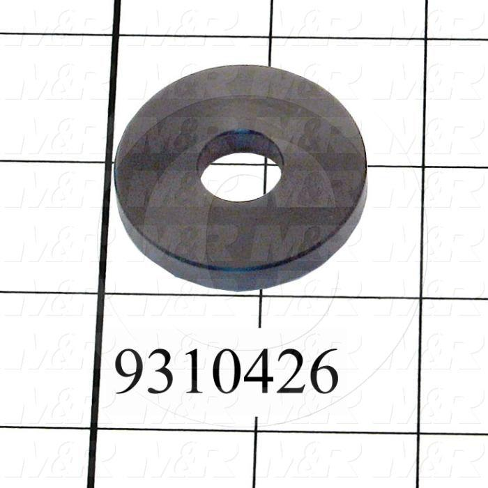 Fabricated Parts, Chopper Bumper, 0.69 in. Diameter, 0.13 in. Thickness