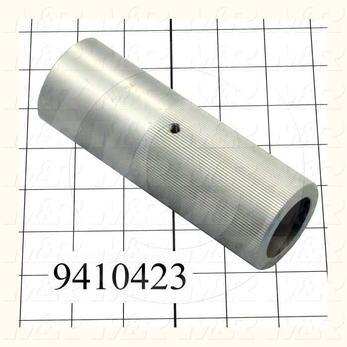 Fabricated Parts, Chopper Cylinder Stroke Adjustment Knob, 5.63 in. Length, 2.00 in. Diameter