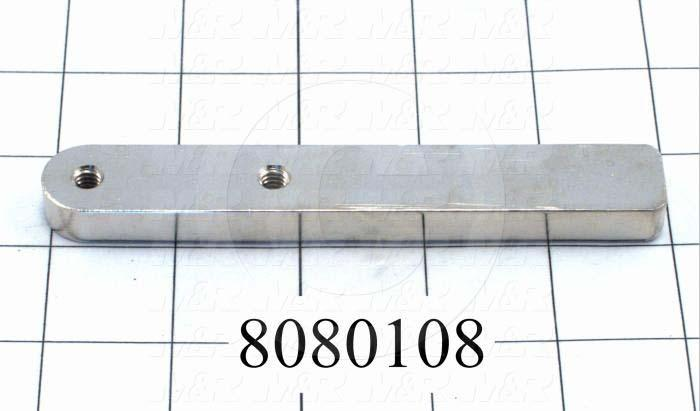 Fabricated Parts, Chopper Slides, 0.75 in. Width, 0.38 in. Thickness