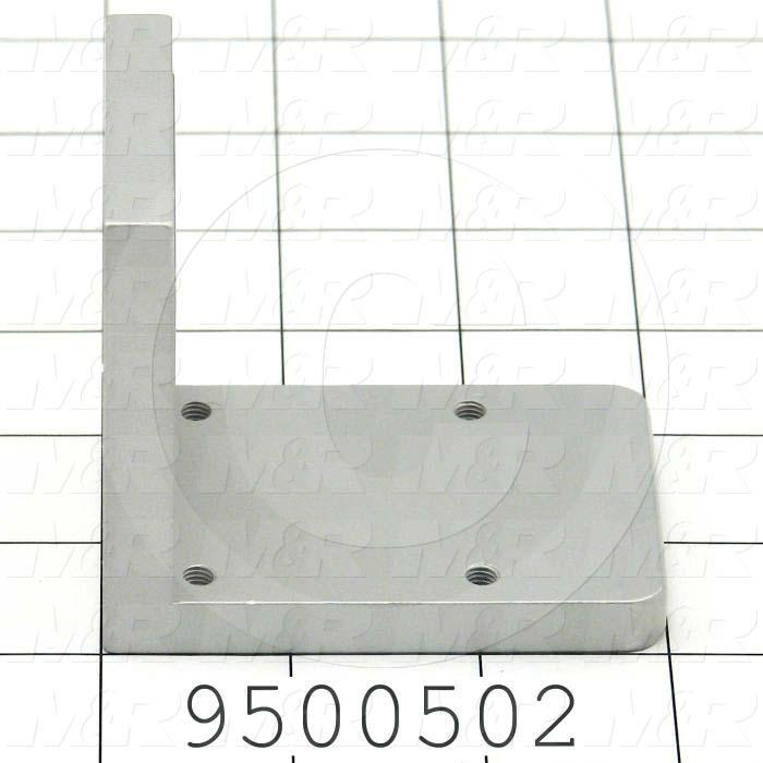 Fabricated Parts, Clamp, 2.75 in. Length, 3.00 in. Width, 2.00 in. Height