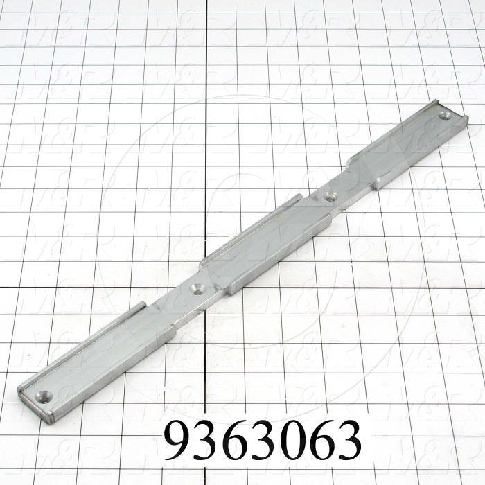 Fabricated Parts, Clamp Bracket, 16.50 in. Length, 1.25 in. Width, 0.36 in. Height