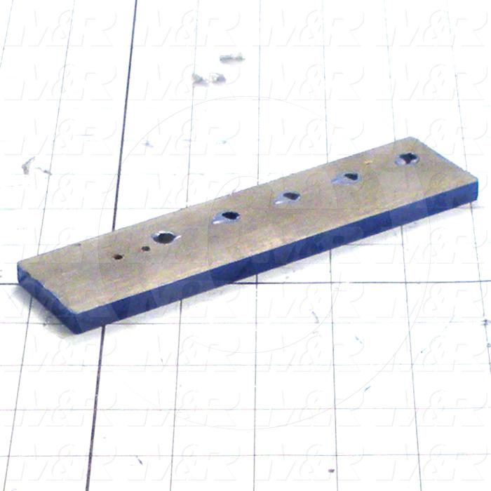 Fabricated Parts, Clevis Guide, 6.50 in. Length, 1.50 in. Width, 0.31 in. Thickness, Right Side