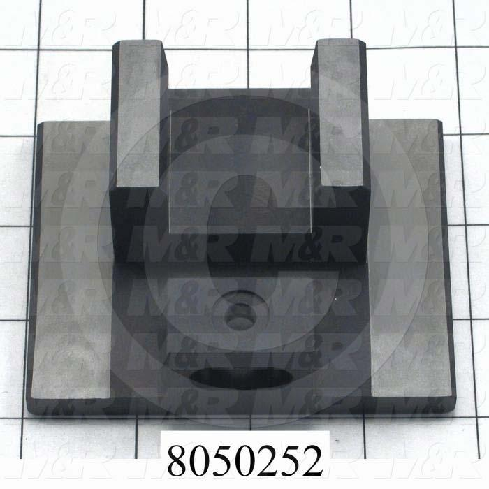 Fabricated Parts, Clevis Index, 3.75 in. Length, 3.19 in. Width, 1.56 in. Height