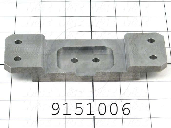 Fabricated Parts, Clevis Lock, 6.00 in. Length, 2.00 in. Width, 0.69 in. Height