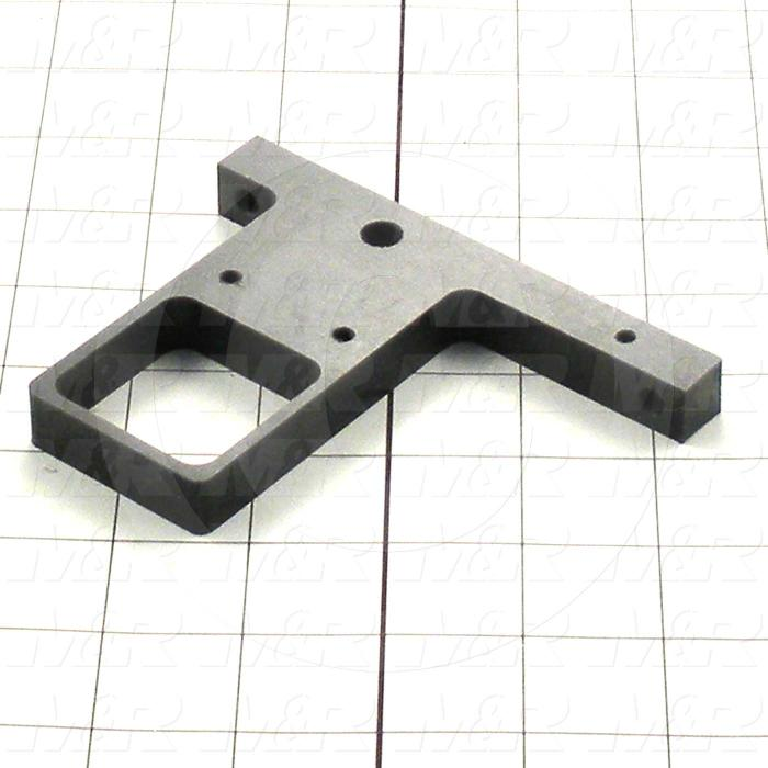 Fabricated Parts, Coil Support, 4.63 in. Length, 0.50 in. Width, 3.57 in. Height, Used On Power Supply Assembly